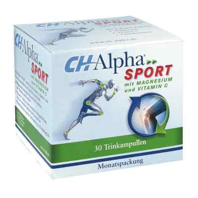 Ch Alpha Sport Trinkampullen