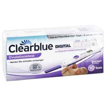 Clearblue cyfrowy test owulacyjny z podwójnym wskaźnikiem hormon