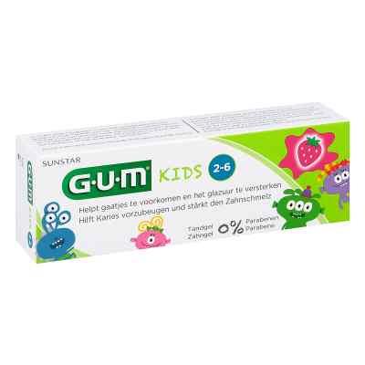 Gum Kids Zahncreme Erdbeere 2-6 Jahre  zamów na apo-discounter.pl