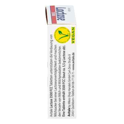 Lactase 3500 Fcc Tabletten im Klickspender  zamów na apo-discounter.pl