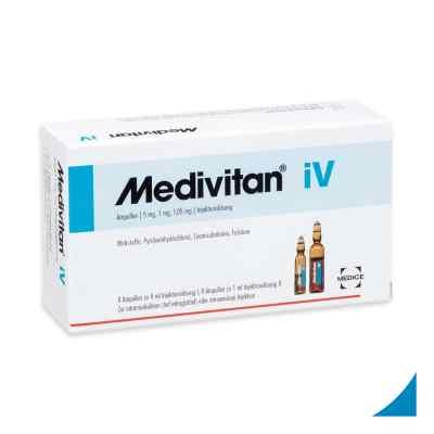 Medivitan iV roztwór do wstrzykiwań ampułki  zamów na apo-discounter.pl