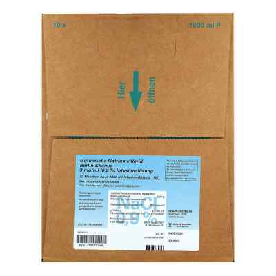Isotonische Nacl Bc 9 mg/ml 0,9% Infusum -l.plastikfl.  zamów na apo-discounter.pl