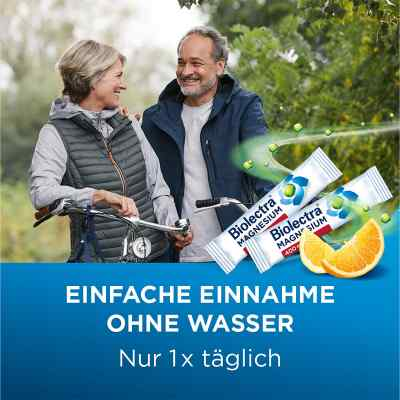 Biolectra Magnesium 400 mg ultra Direct Orange  zamów na apo-discounter.pl