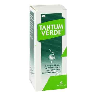 Tantum Verde 1,5 mg/ml Lösung zur, zum Anw.i.d.Mundhöhle