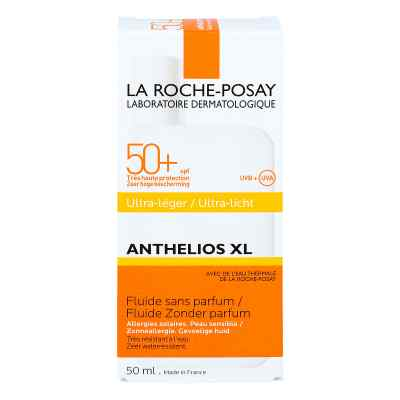 La Roche Posay Anthelios Xl 50+ ultralekki fluid do twarzy  zamów na apo-discounter.pl