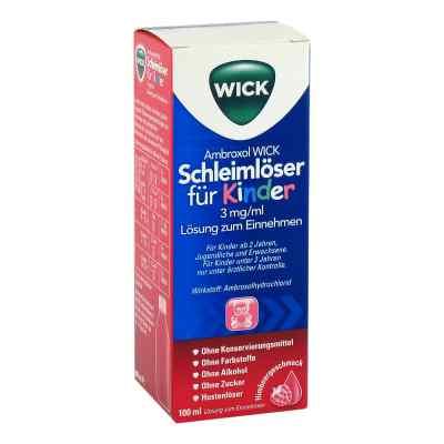 Ambroxol Wick Schleimlöser für Kind.3mg/ml L.z.einn.  zamów na apo-discounter.pl