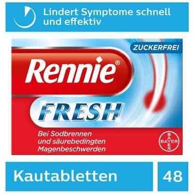 Rennie Fresh tabletki do żucia  zamów na apo-discounter.pl