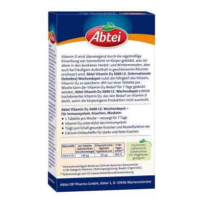 Abtei Vitamin D3 5.600 I.e. Wochendepot Tabletten  zamów na apo-discounter.pl