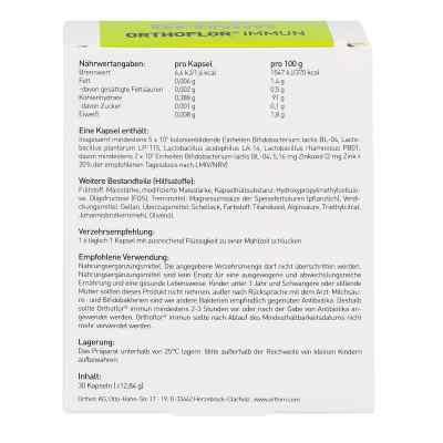 Orthoflor Immun Kapseln