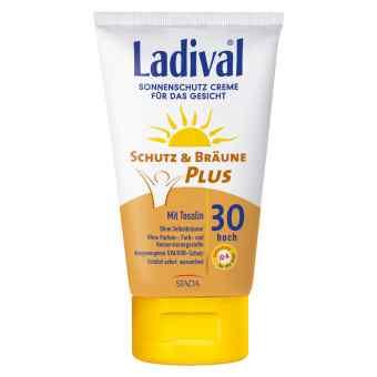 Ladival Schutz&Bräune przeciwsłoneczny krem do twarzy Lsf 30  zamów na apo-discounter.pl