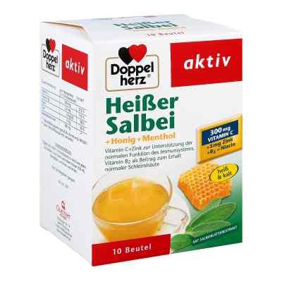Doppelherz Heisser szałwia, miód + mentol na gorąco  zamów na apo-discounter.pl