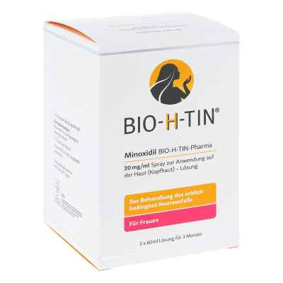 Minoxidil Bio-h-tin Pharma 20 mg/ml Spray Lösung   zamów na apo-discounter.pl