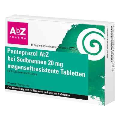 Pantoprazol Abz bei Sodbrennen 20 mg msr.Tabl.  zamów na apo-discounter.pl