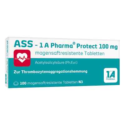 Ass 1a Pharma Protect 100 mg magensaftresistent Tabletten  zamów na apo-discounter.pl