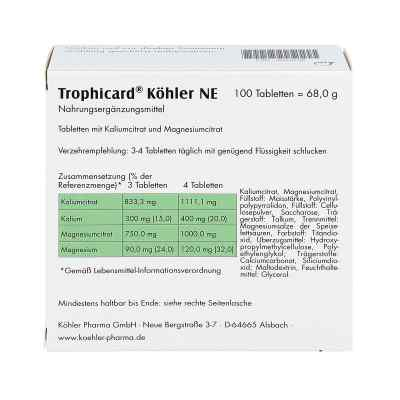 Trophicard Köhler Ne Tabletten  zamów na apo-discounter.pl