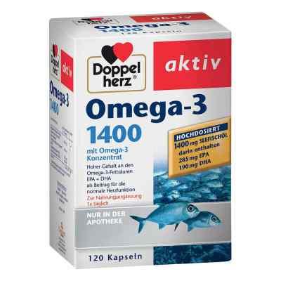 Doppelherz Kapsułki z kwasem Omega-3 1400 mg  zamów na apo-discounter.pl