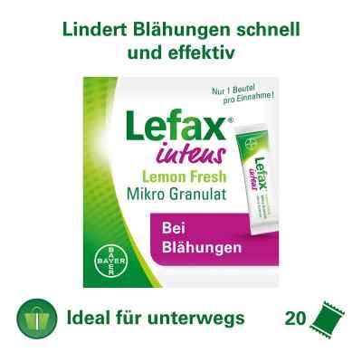 Lefax intens Lemon Fresh, mikro granulat z symetykonem 250 mg  zamów na apo-discounter.pl