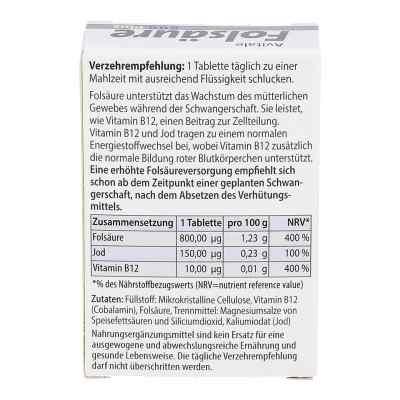 Kwas foliowy 800 Plus B12+jod – tabletki  zamów na apo-discounter.pl