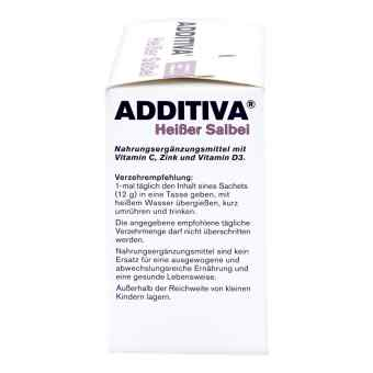 Additiva Heisser Salbei Pulver