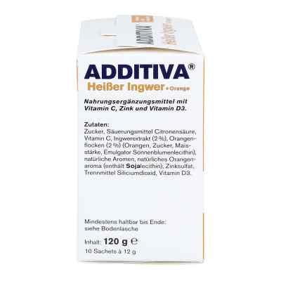 Additiva Heisser Ingwer+orange Pulver  zamów na apo-discounter.pl