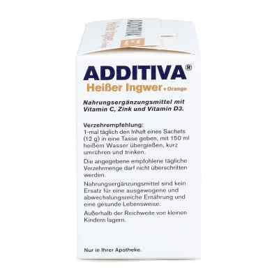 Additiva Gorący Imbir+Pomarańcza Proszek  zamów na apo-discounter.pl