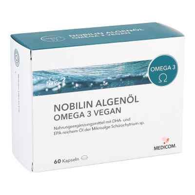 Nobilin Algenöl Omega-3 vegan Kapseln