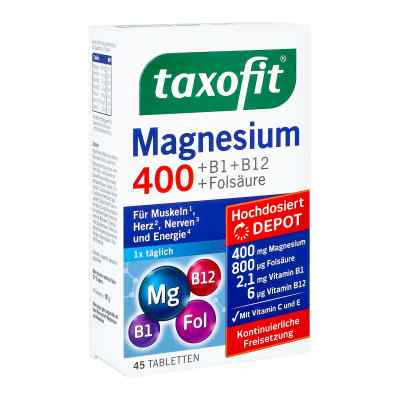 Taxofit Magnesium 400 Tabletki z magnezem  zamów na apo-discounter.pl