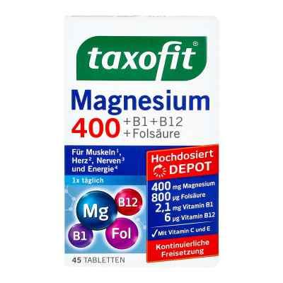 Taxofit Magnesium 400 Tabletki z magnezem