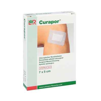 Curapor Wundverband steril chirurgisch 5x7 cm  zamów na apo-discounter.pl