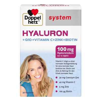 Doppelherz Hyaluron System kapsułki z kwasem hialuronowym  zamów na apo-discounter.pl
