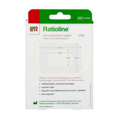 Ratioline acute Wundverband 8x10 cm steril  zamów na apo-discounter.pl