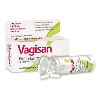 Vagisan Biotin-Lacto kapsułki  zamów na apo-discounter.pl
