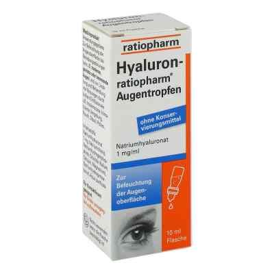 Hyaluron Ratiopharm Krople do oczu  zamów na apo-discounter.pl