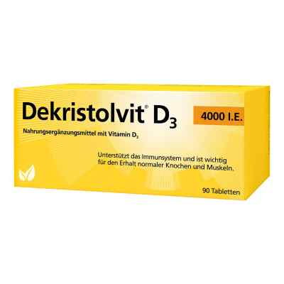 Dekristolvit D3 4.000 I.E. tabletki  zamów na apo-discounter.pl