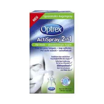 Optrex Actispray 2in1 für müde+überanstrengte Augen