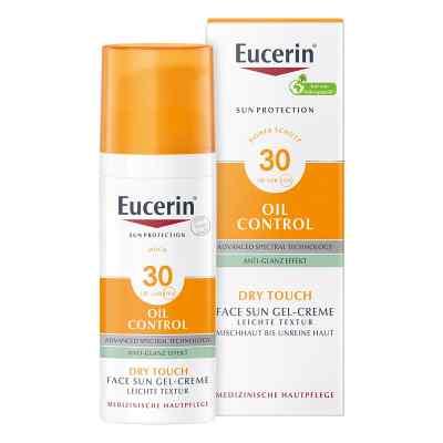 Eucerin Sun ochronny krem-żel do twarzy SPF30+ matujący  zamów na apo-discounter.pl