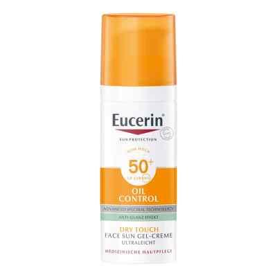 Eucerin Sun ochronny krem-żel do twarzy SPF50+ matujący