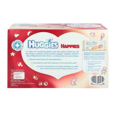 Huggies Happies Baby-pflegetücher  zamów na apo-discounter.pl
