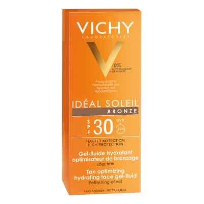 Vichy Ideal Soleil przeciwsłoneczny żel brązujący do twarz