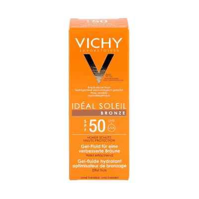 Vichy Capital Ideal Soleil Bronze żel do twarzy SPF50  zamów na apo-discounter.pl