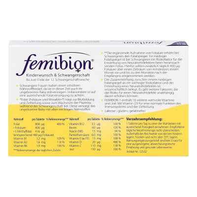 Femibion dla przyszłych matek z wit. D3, tabletki