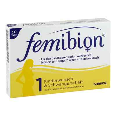 Femibion dla przyszłych matek z wit. D3, tabletki  zamów na apo-discounter.pl