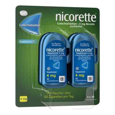 Nicorette freshmint 4 mg Lutschtabletten gepresst  zamów na apo-discounter.pl