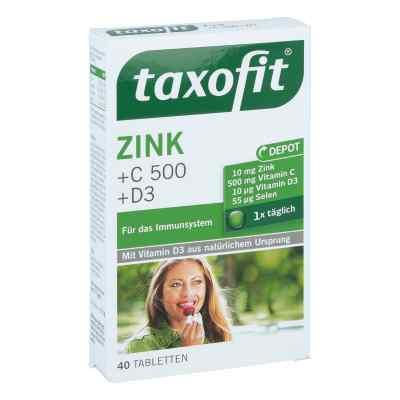 Taxofit Cynk+ wit. C 500+ Selen+ wit. D3 tabletki  zamów na apo-discounter.pl