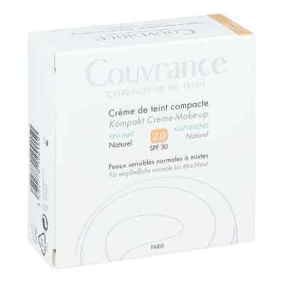 Avene Couvrance puder w kompakcie odcień naturalny mat 2   zamów na apo-discounter.pl