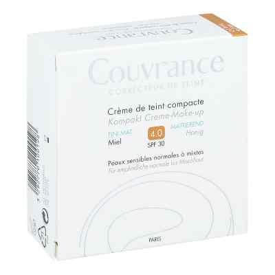 Avene Couvrance puder w kompakcie odcień miodowy mat 4