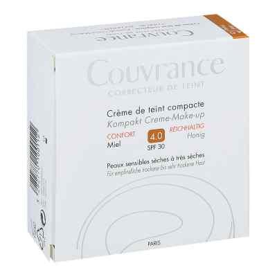 Avene Couvrance puder w kompakcie kremowy odcień miodowy intensy