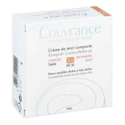 Avene Couvrance puder w kompakcie kremowy odcień intensywny pias