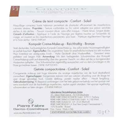Avene Couvrance podkład w kompakcie kremowy odcień brązowy inten