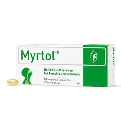 Myrtol magensaftresistente Weichkapseln  zamów na apo-discounter.pl